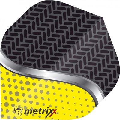 Piórka Bull's Metrixx Dot Yellow