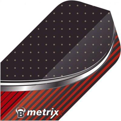Piórka Bull's Metrixx Stripe Red Slim
