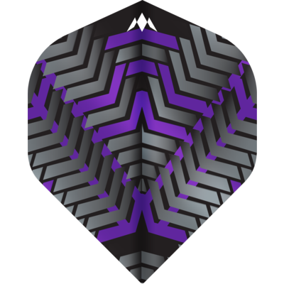 Piórka Mission Vex NO2 Black & Purple