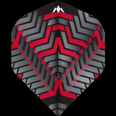 Piórka Mission Vex NO2 Black & Red