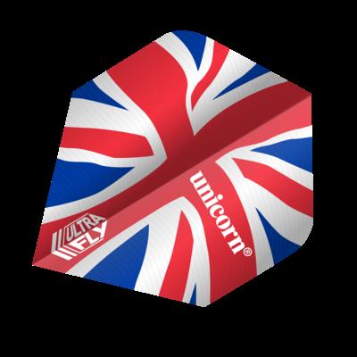 Piórka Unicorn Ultrafly Union Jack Wave PLUS