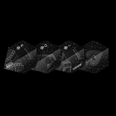 Piórka Unicorn Ultrafly Royal Flush Black PLUS