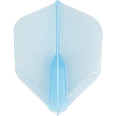 Piórka Robson Plus Crystal Clear Blue Std.6