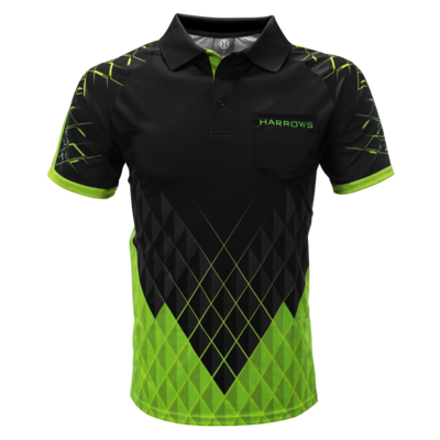 Harrows Paragon  Green Koszulka do dart