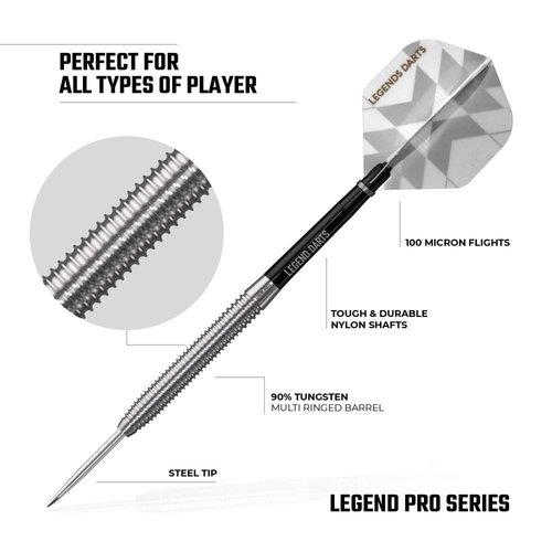 Legend Darts Lotki Legend Darts Pro Series V6 90%