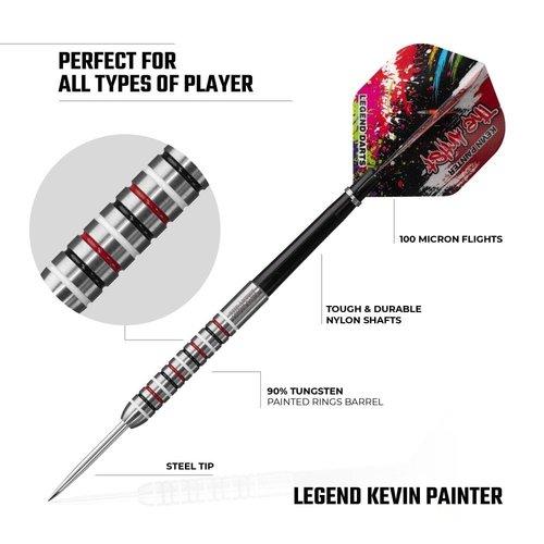 Legend Darts Lotki Kevin Painter Ringed 90%