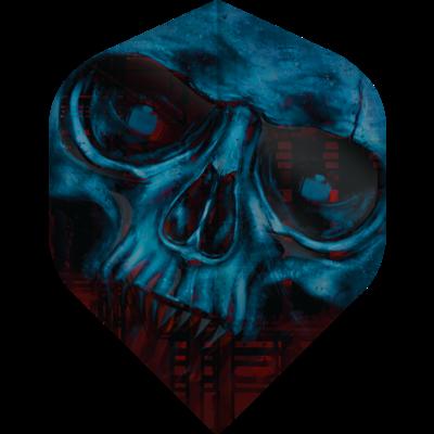 Piórka Designa Horror Show - Zombie Skull No2