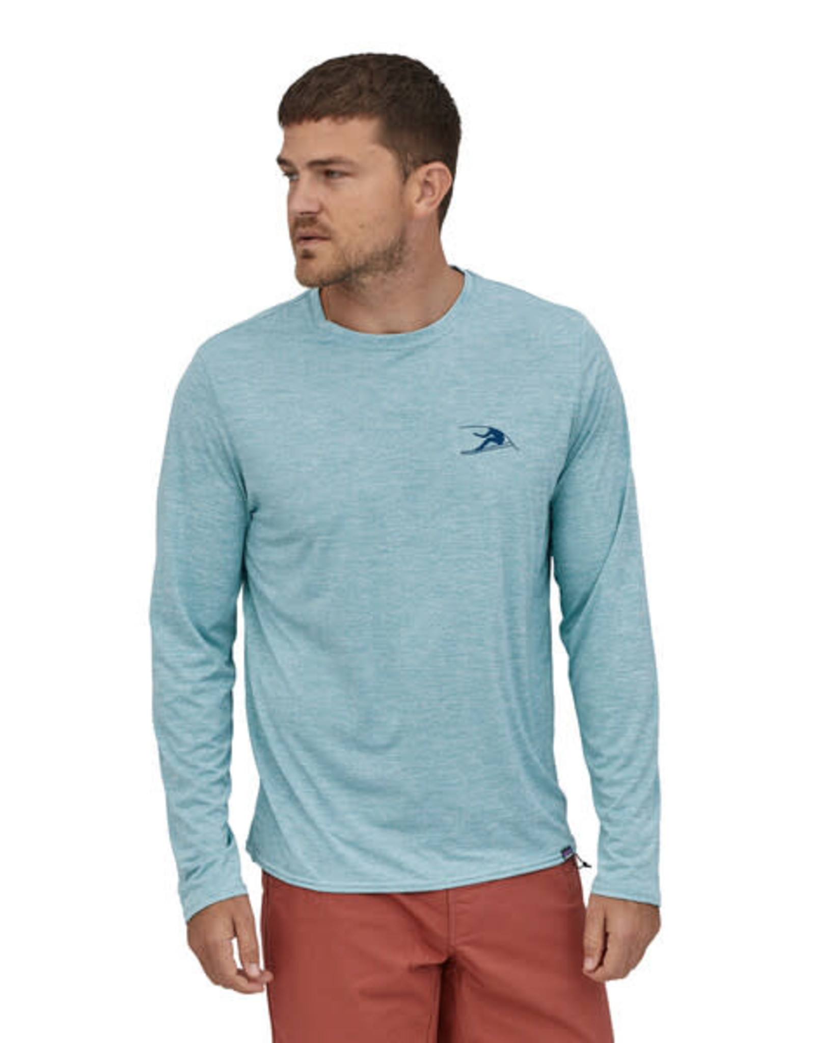 patagonia 45190 M's L/S cap cool daily graphic shirt