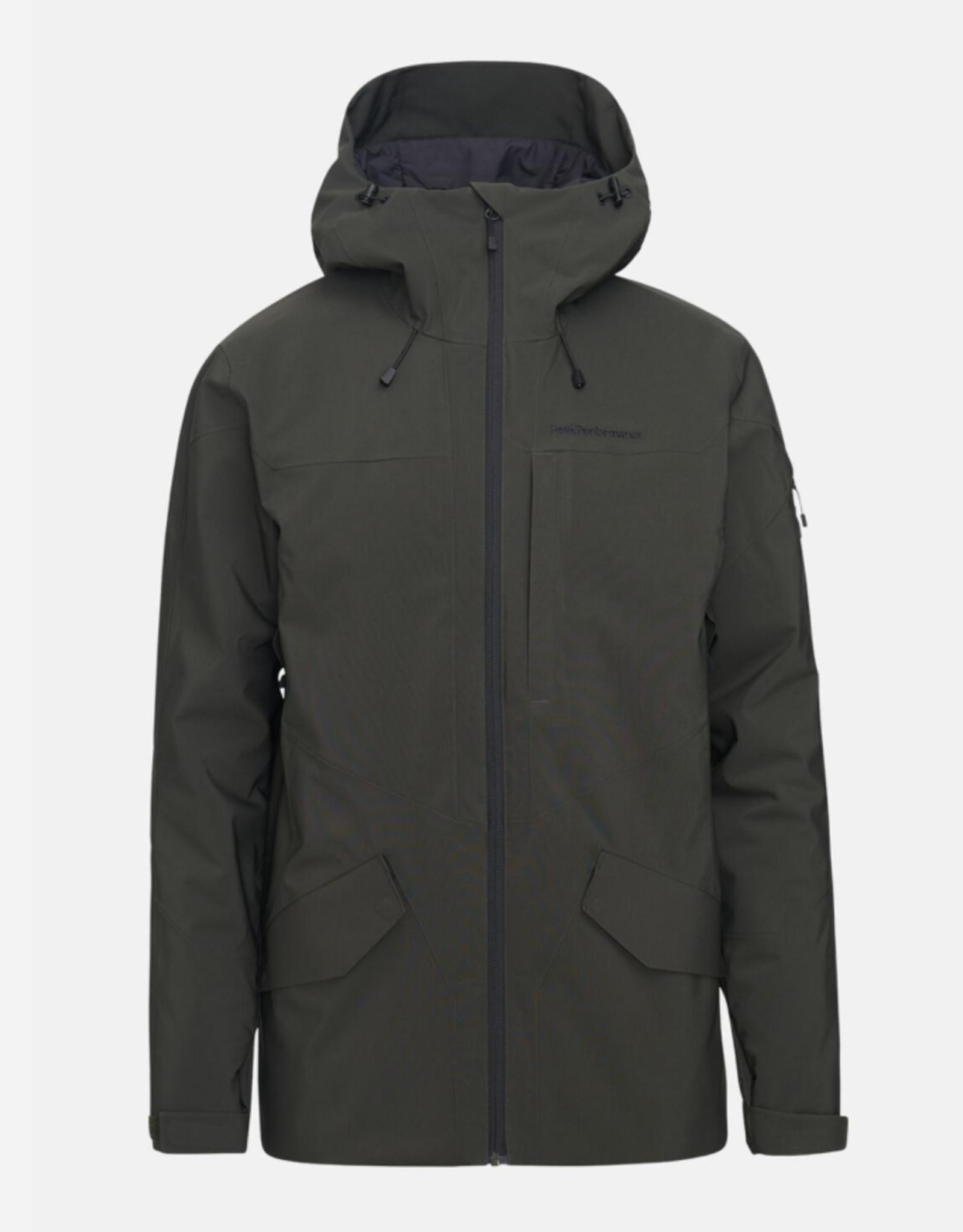 Peak Performance Maroon Long jacket heren (ref G54075209)