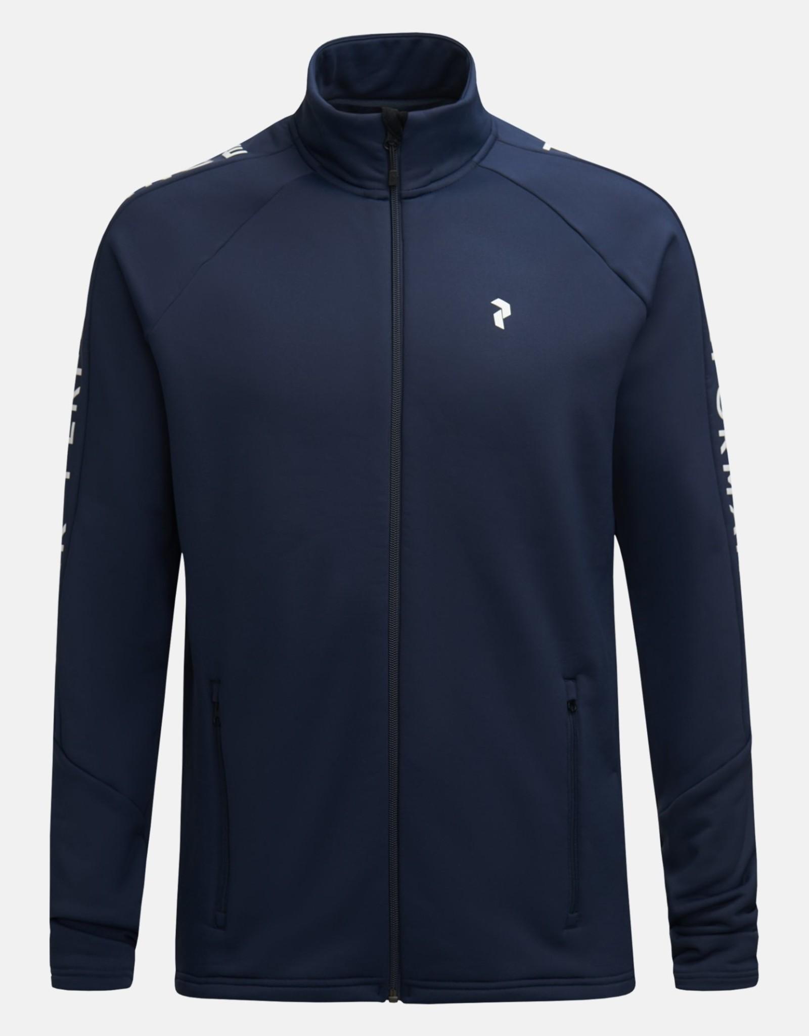 Peak Performance Rider zip jacket heren (ref G66363046)