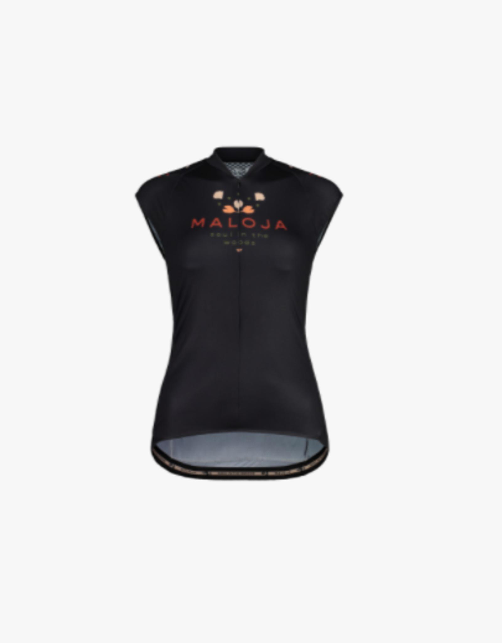 maloja Rubinie mouwloos fiets shirt dames