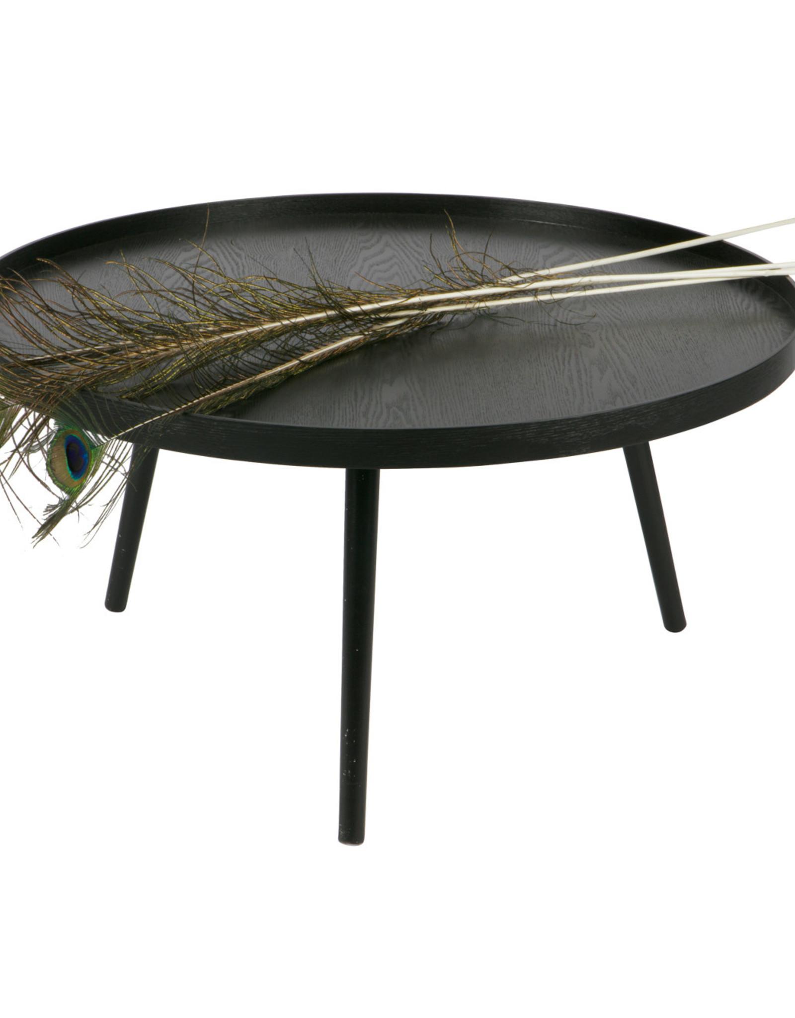 woood Mesa bijzettafel XL zwart