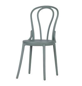 woood Bibi buiten/binnen stoel kunststof - jadegroen