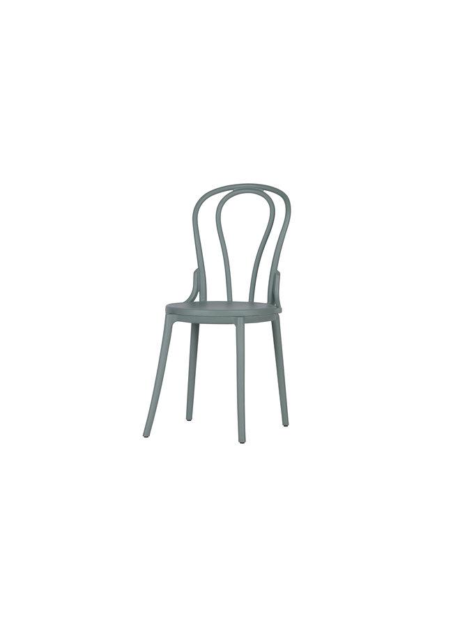 Bibi buiten/binnen stoel kunststof - jadegroen