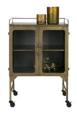 Talent Metalen Kast Antique Brass