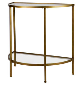 Goddess Sidetable Antique Brass