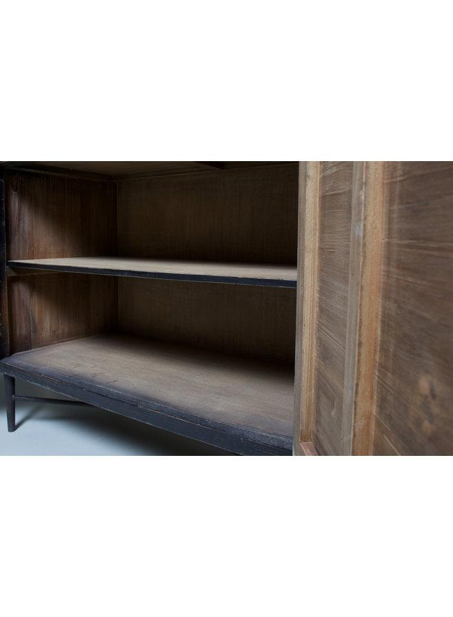 Dressoir Lotte - hout / zwart