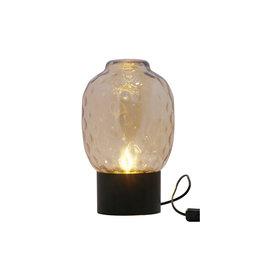 Bubble Tafellamp Xl Glas Antique Brass
