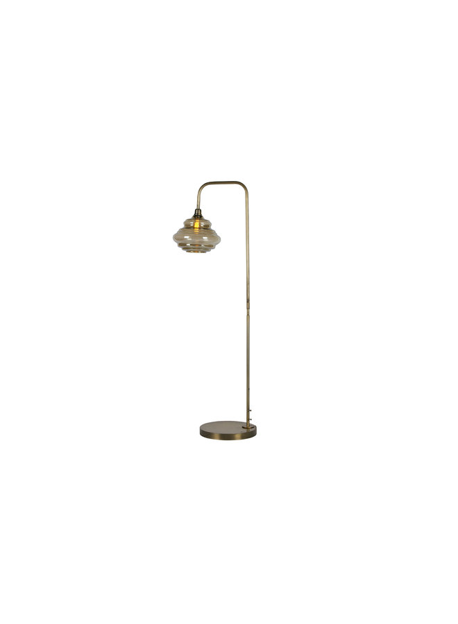 Obvious Staande Lamp Antique Brass