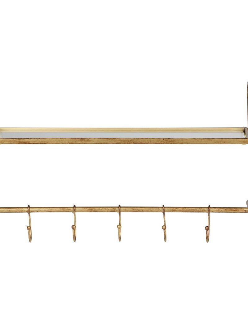 Hatstand Hangende Kapstok Antique Brass