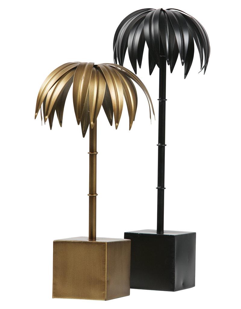 Palm L Metaal Zwart