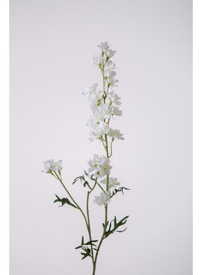 Kunstbloem Delphinium wit