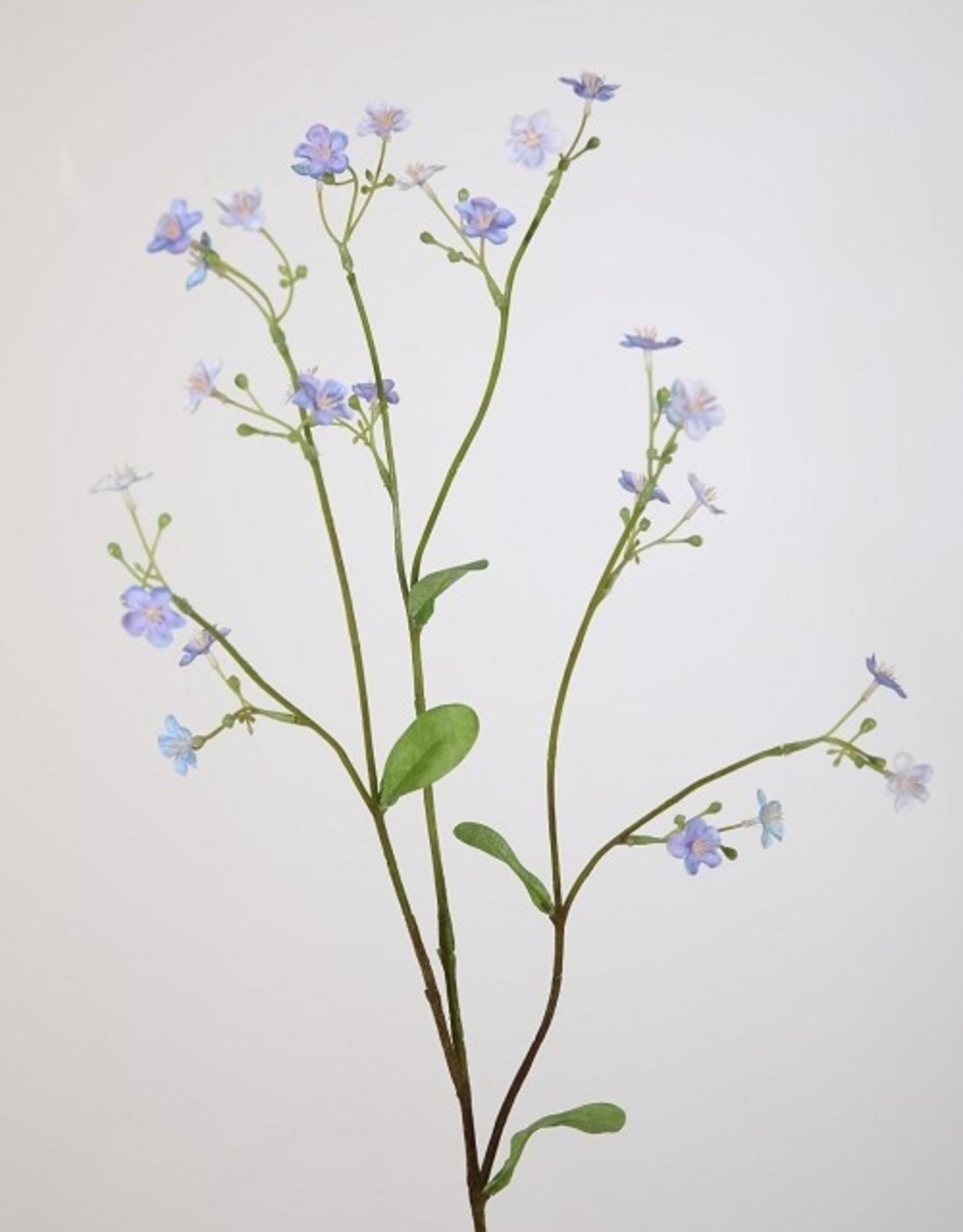 Kunstbloem Vergeetmenietje lila