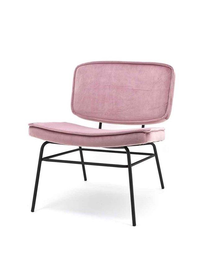 Lounge chair Lana - Old pink