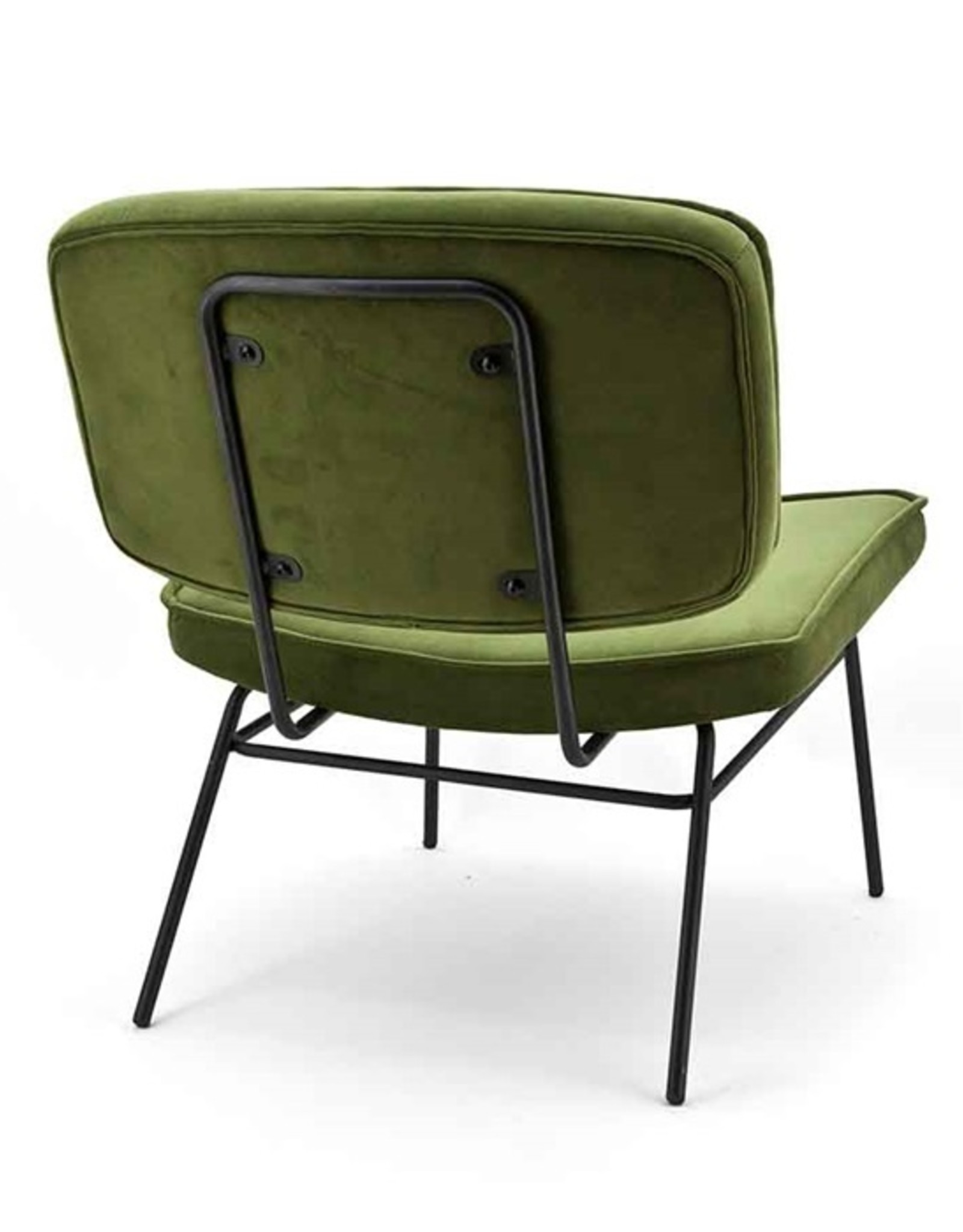 By-Boo Lounge chair Lana - Green