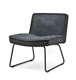 By-Boo Lounge chair Amber - Anthracite