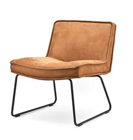 By-Boo Lounge chair Amber - Cognac