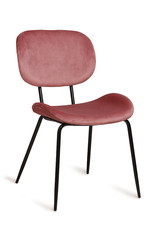 HK living Chair Tess Velours Old Pink