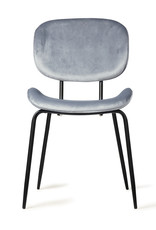 HK living Chair Tess Velours cool grey