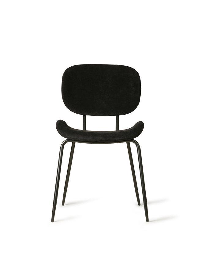HKliving Dining Chair - rib black
