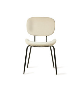 HK living Chair Tess creme rib stof