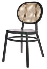HK living Retro webbing chair black