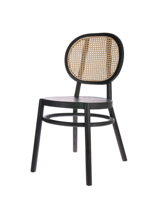 HKliving Retro Webbing Chair - black