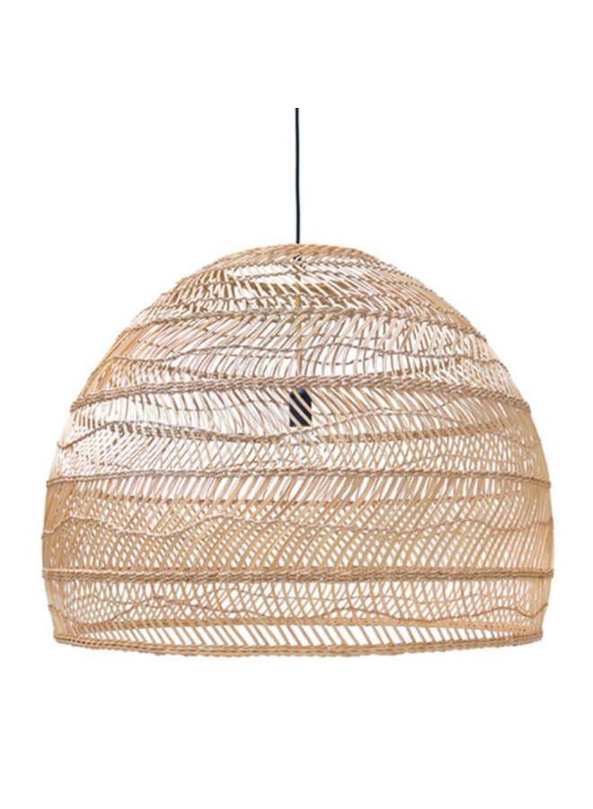 Ubud hanglamp L - naturel