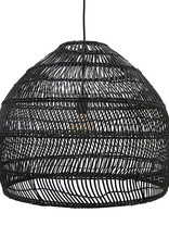 HK living Ubud hanglamp M - zwart
