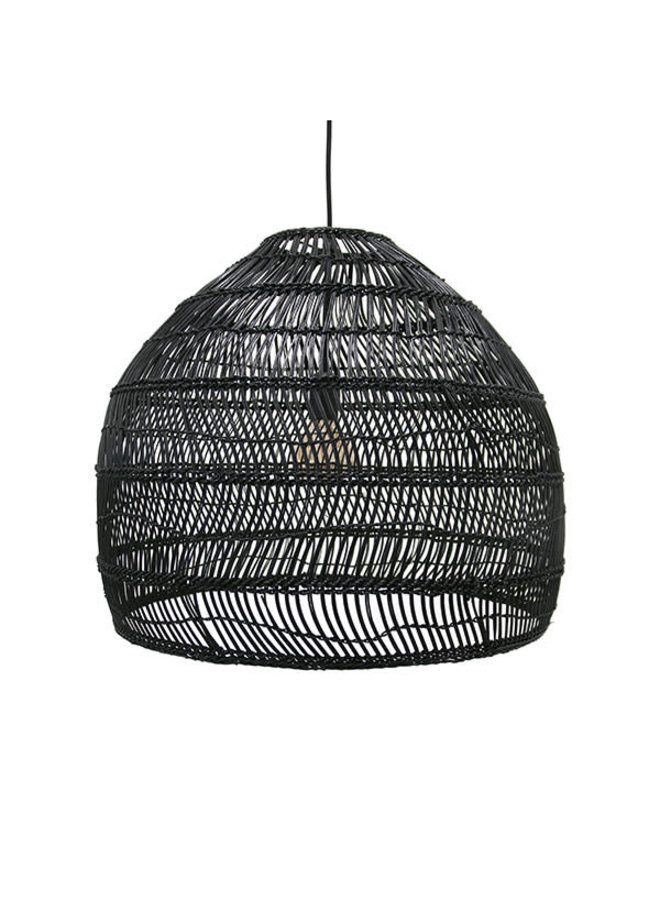 Ubud hanglamp M - zwart