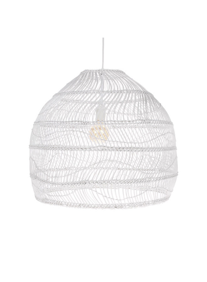 Ubud hanglamp M - wit