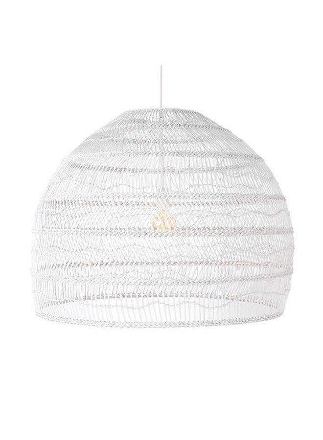 Ubud hanglamp L - wit