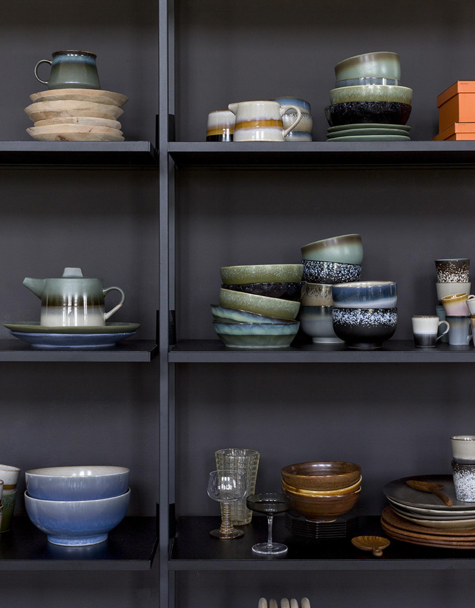 HK living HKliving ceramic 70's noodle bowls (set of 4)