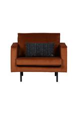 London fauteuil 1,5-zits verlours Roest