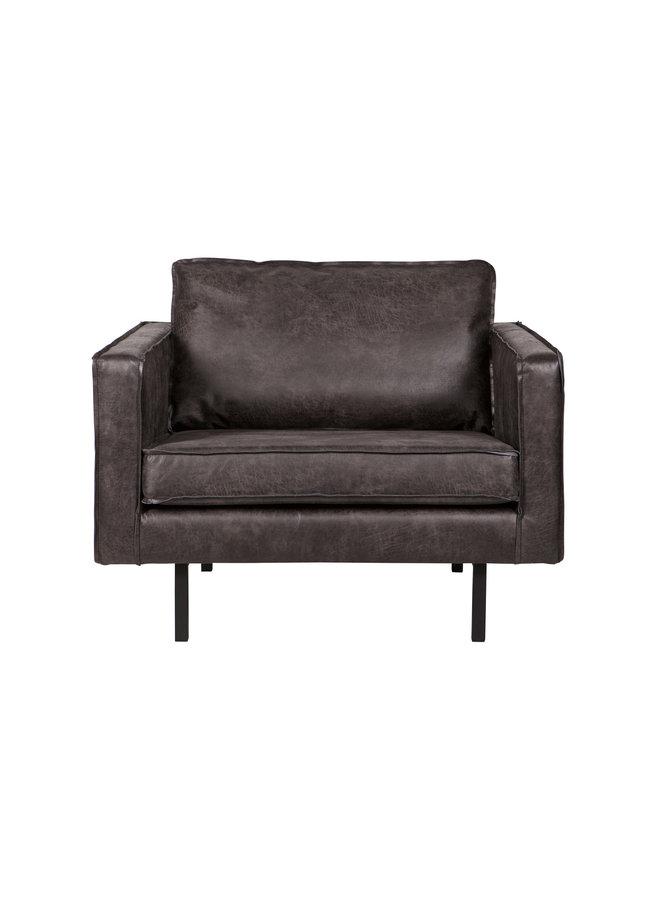London fauteuil 1,5-zits leer Antraciet