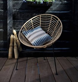 Veerle loungestoel naturel