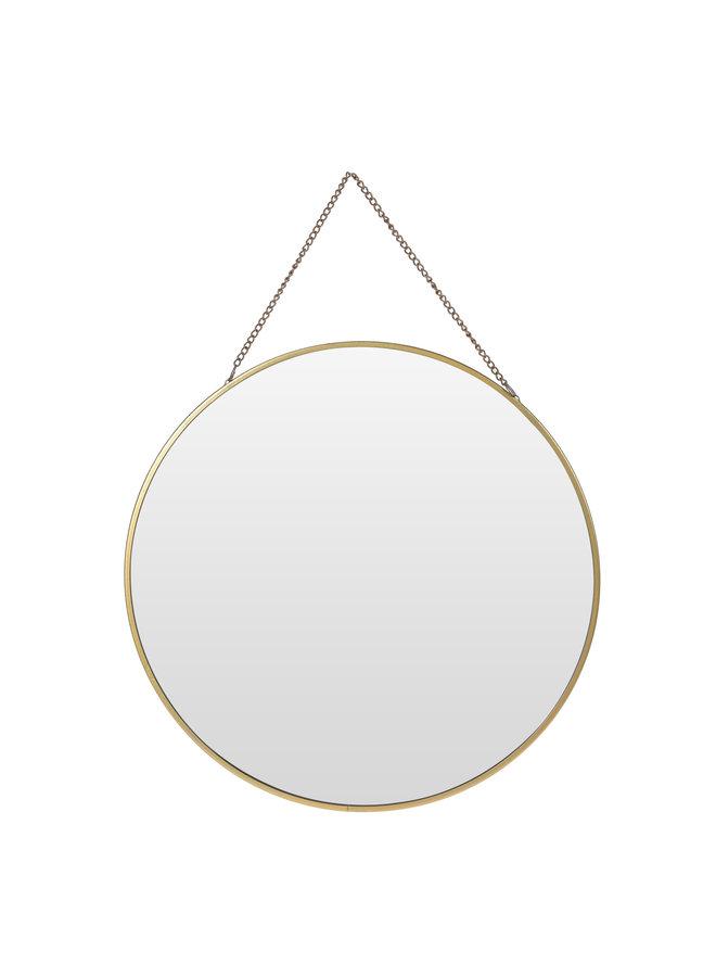 Spiegel Emma - zwart / goud