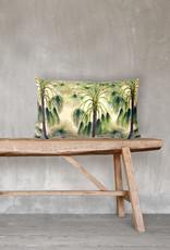 Vanilla Fly Kussen Green Palms 30x50