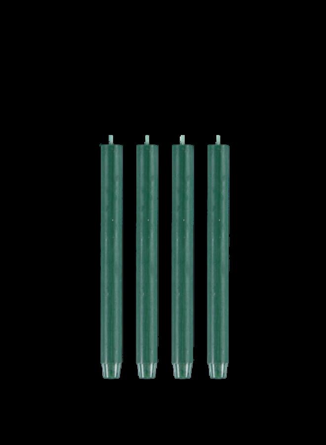 Kaars - Groen /  set van 4