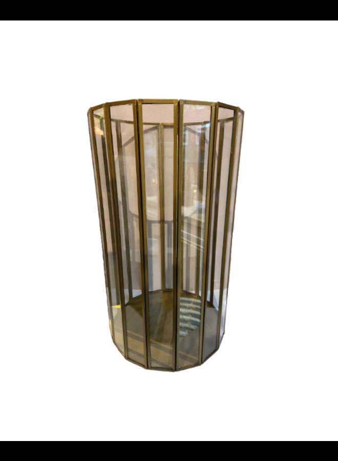 Windlicht Gold - 30 cm